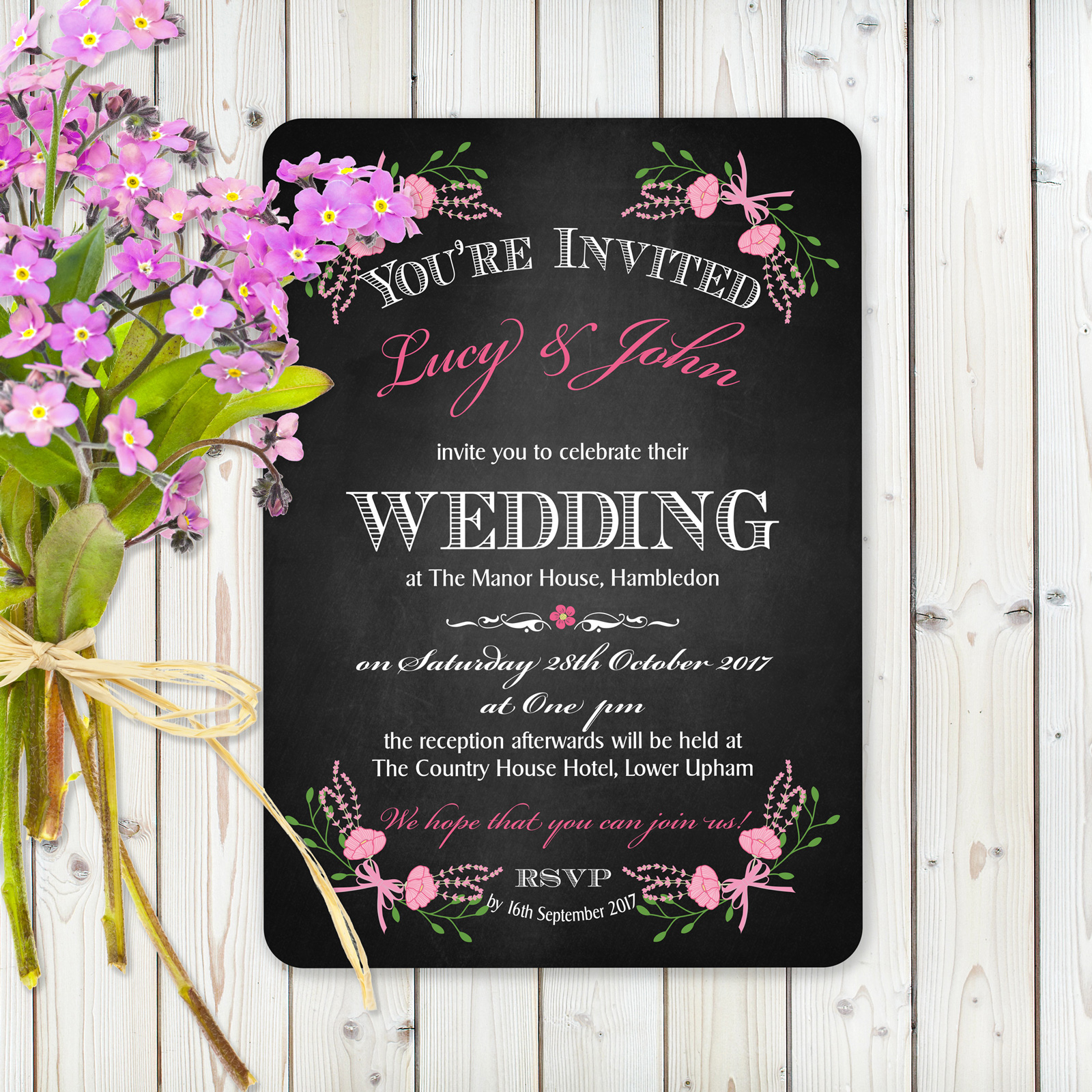 Day Invitation from £0.98 ea