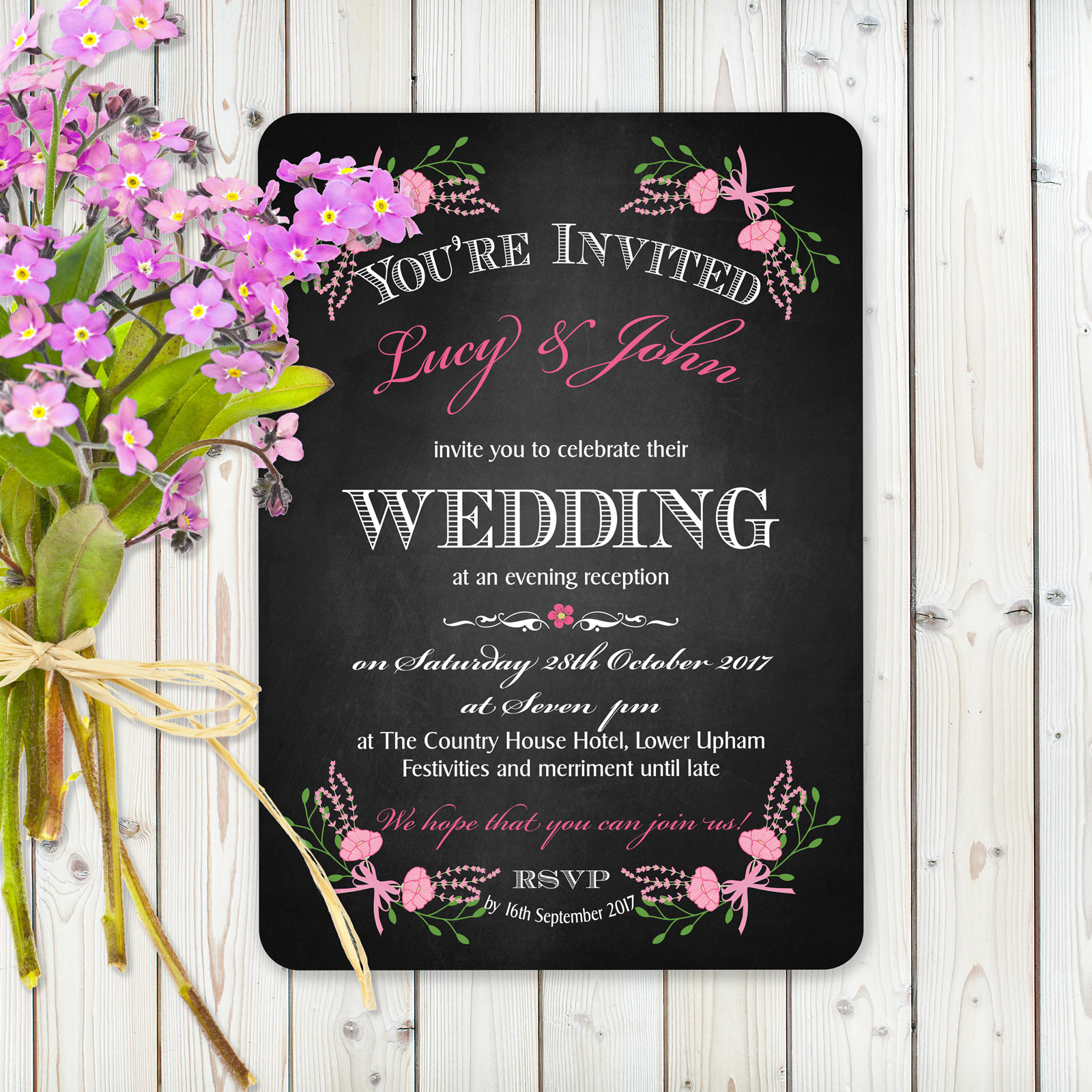 Evening Invitation from £0.98 ea