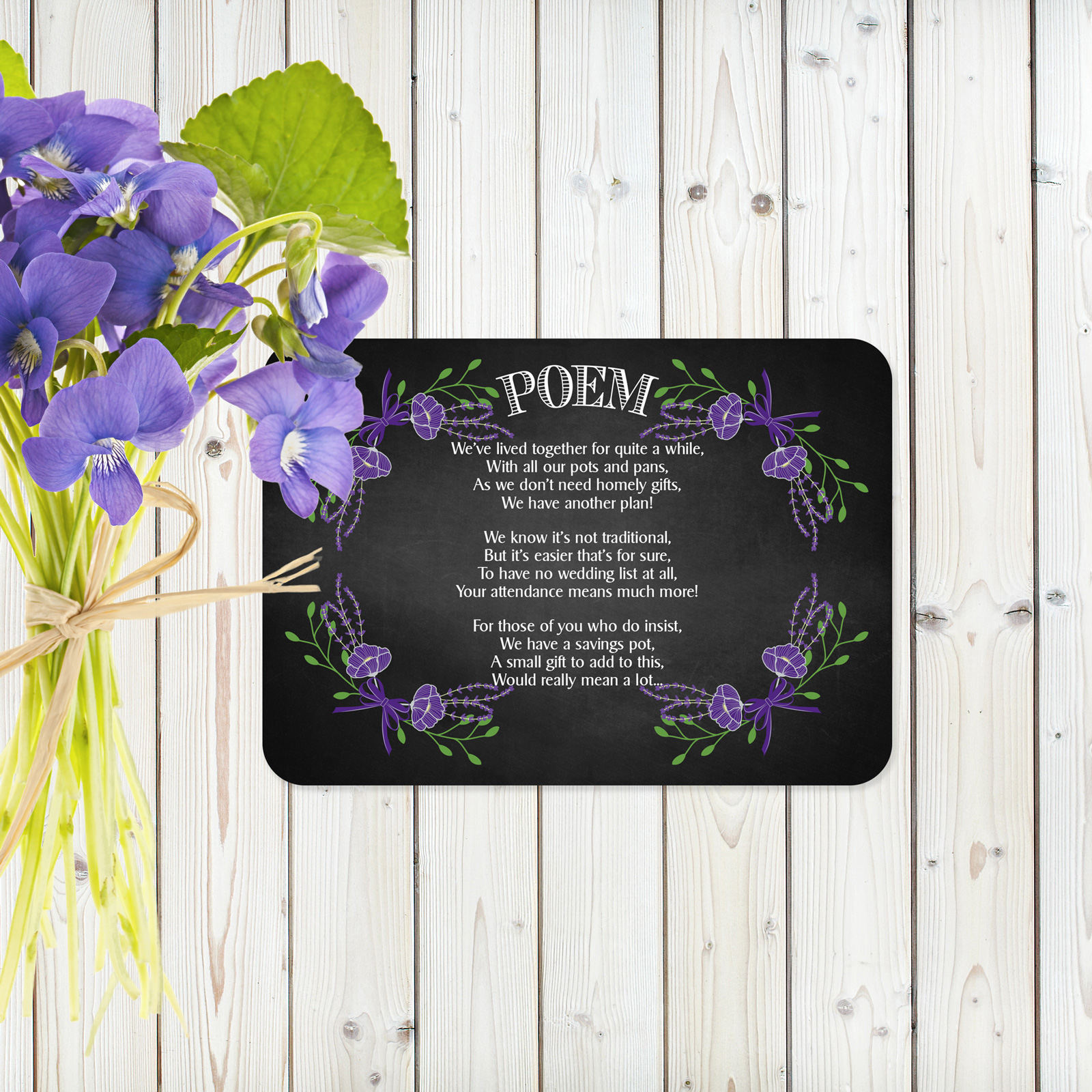 Poem cards from £0.80 ea
