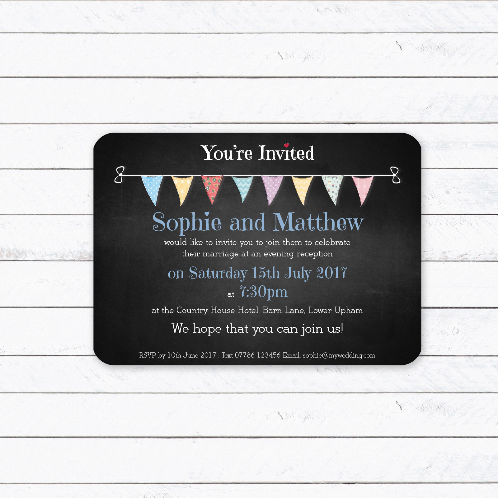 Evening Invitation from £0.90 ea