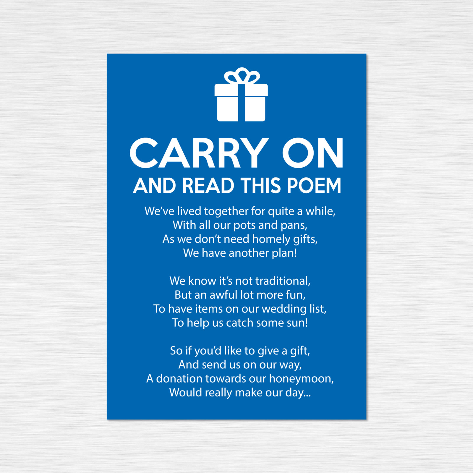 Poem cards from £0.49 ea
