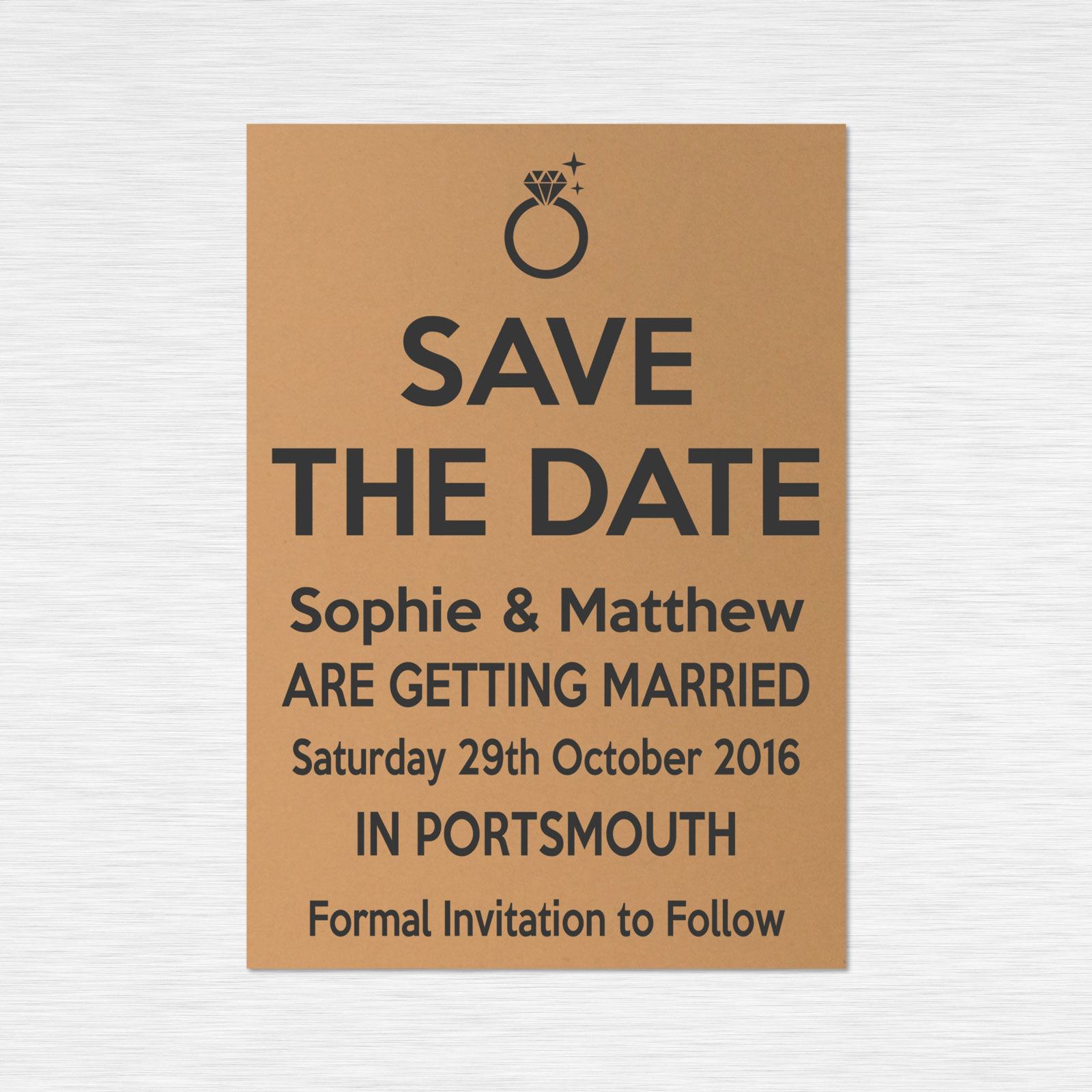 Save the Date cards from £0.48 ea