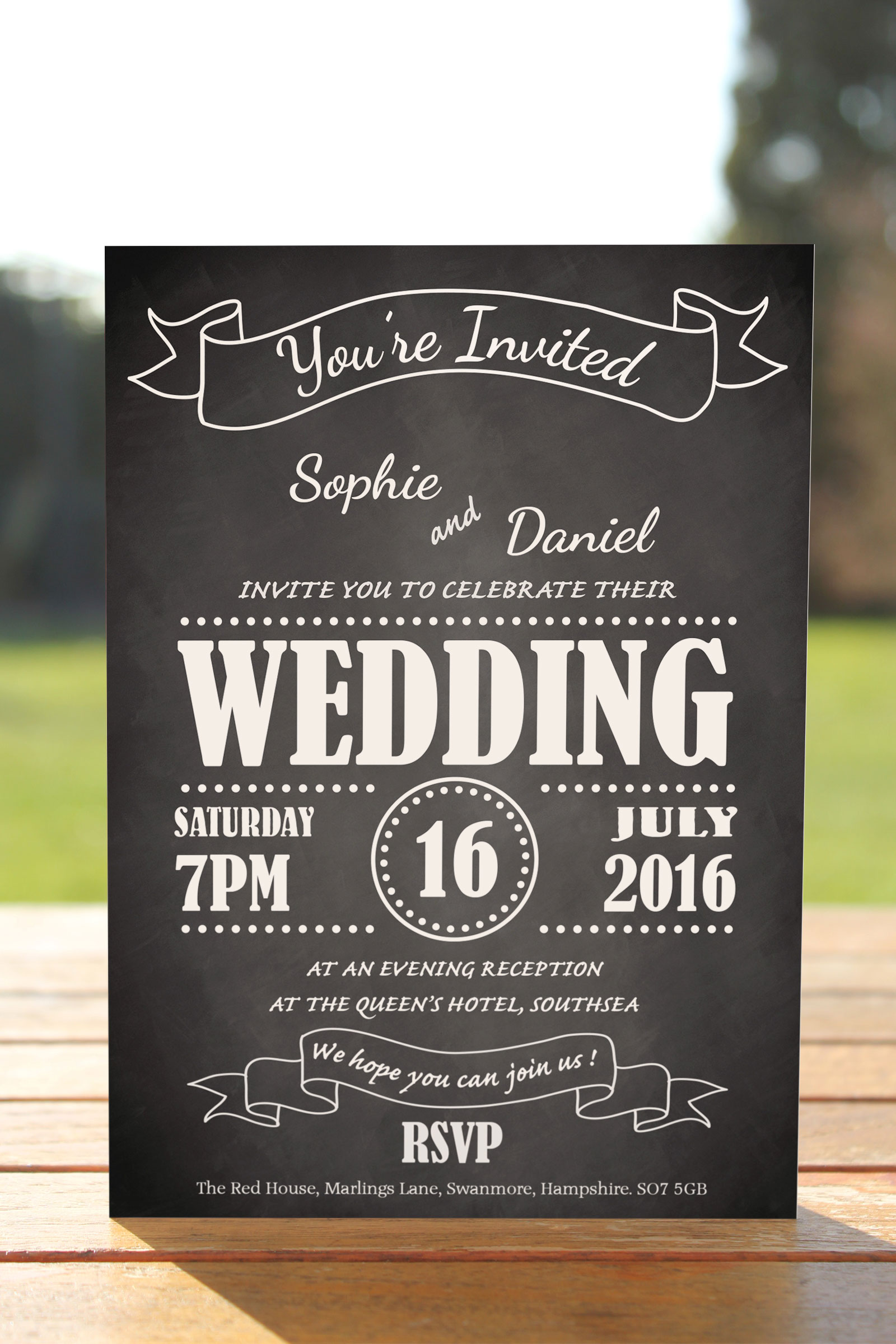 Evening Invitation from £0.62 ea