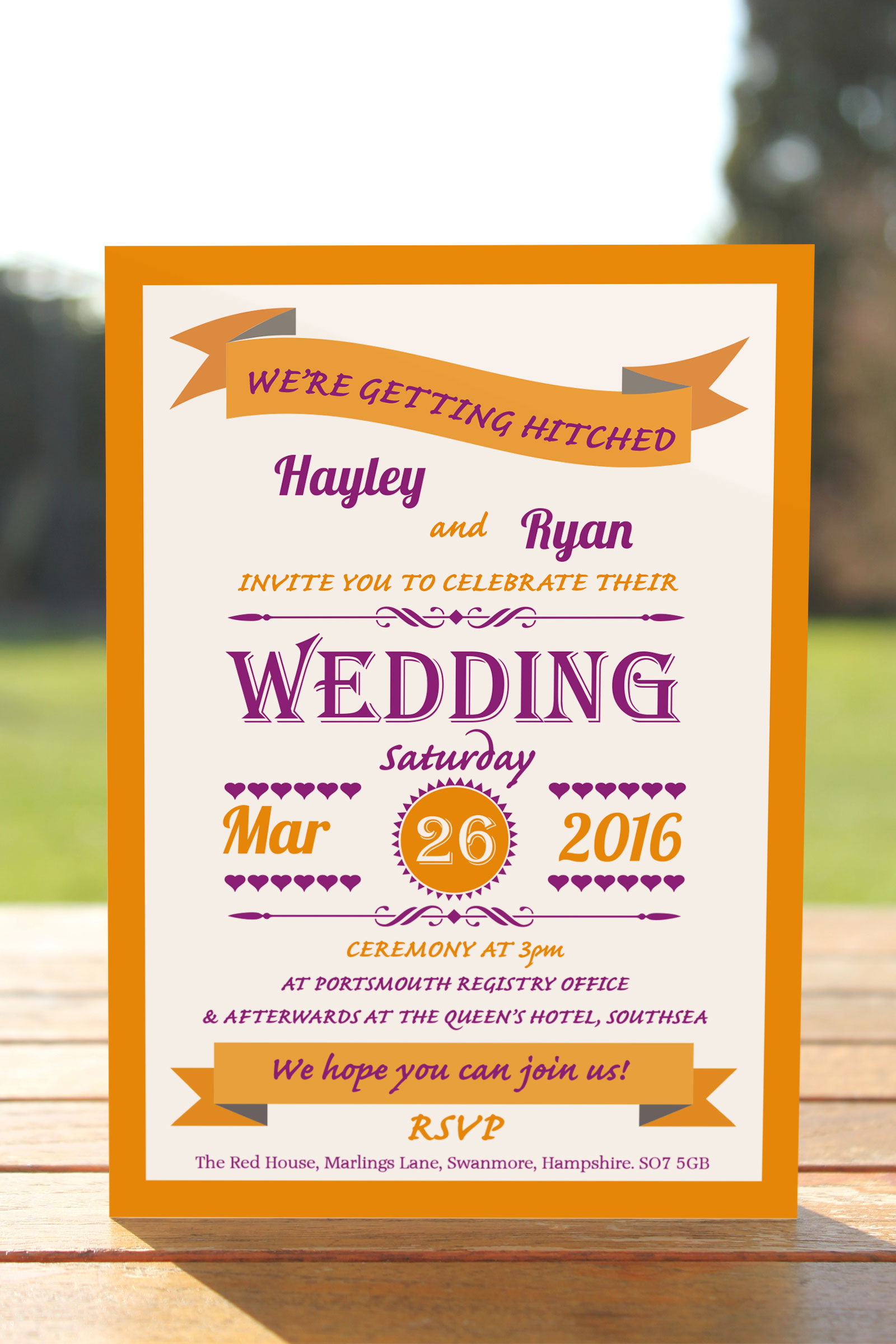 Day Invitation from £0.57 ea