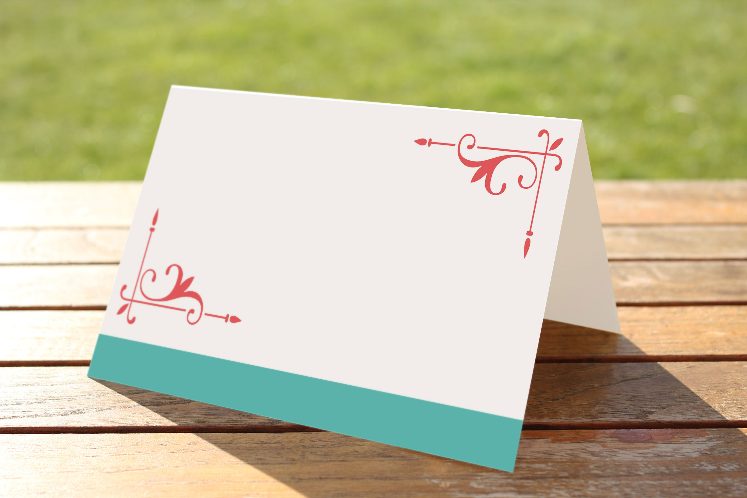 Table placename cards - set of 48 £4.50