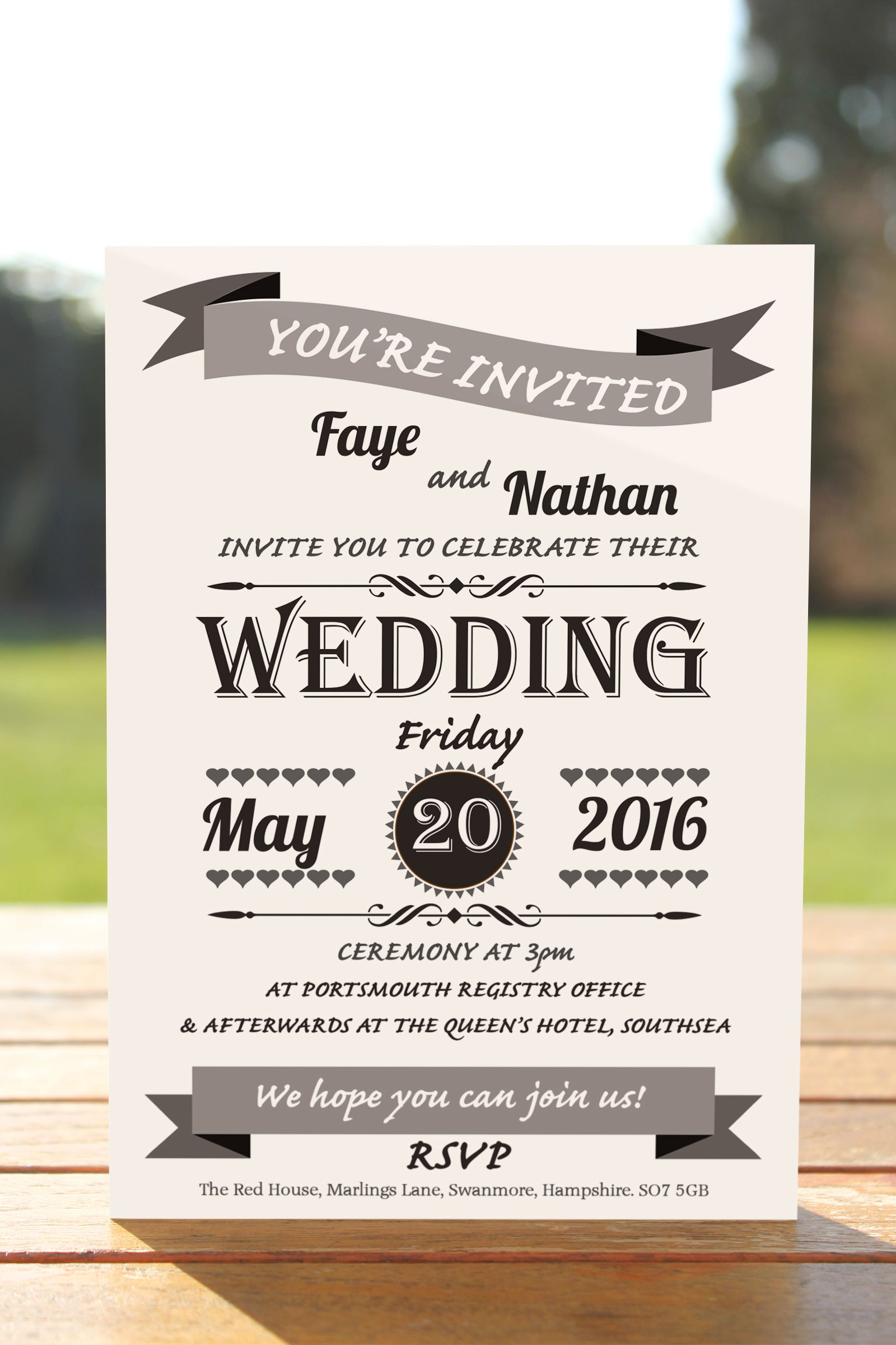 Day Invitation from £0.48 ea